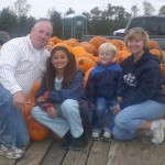 Families have fun in the Pumpkin Patch